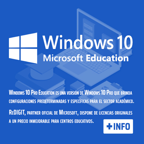 Windows 10 Pro educacion